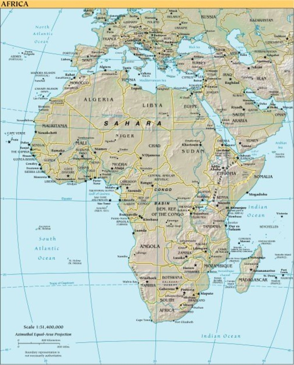 Ethiopia is located in northeastern Africa to the west of Somalia.
