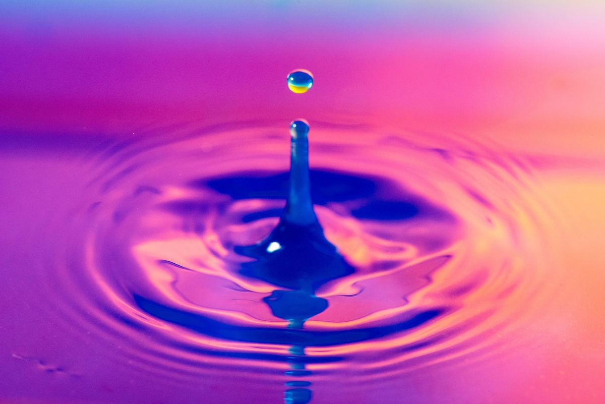 """Water is not wet. """"Wet"""" is just a term people use to describe the feeling of water."""
