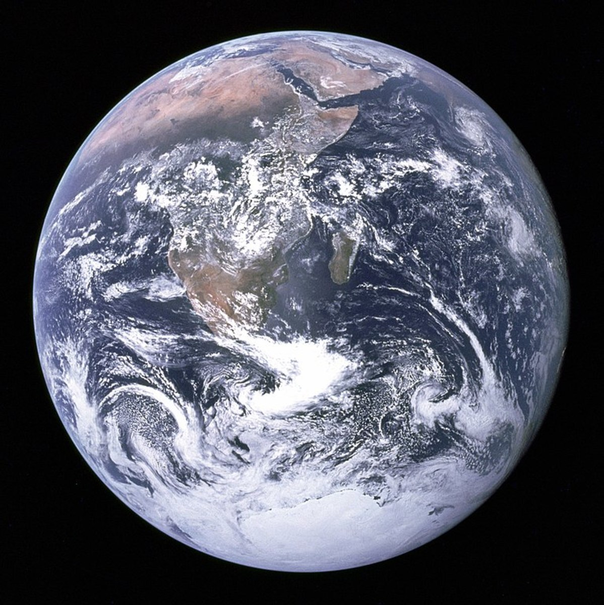 The blue marble.