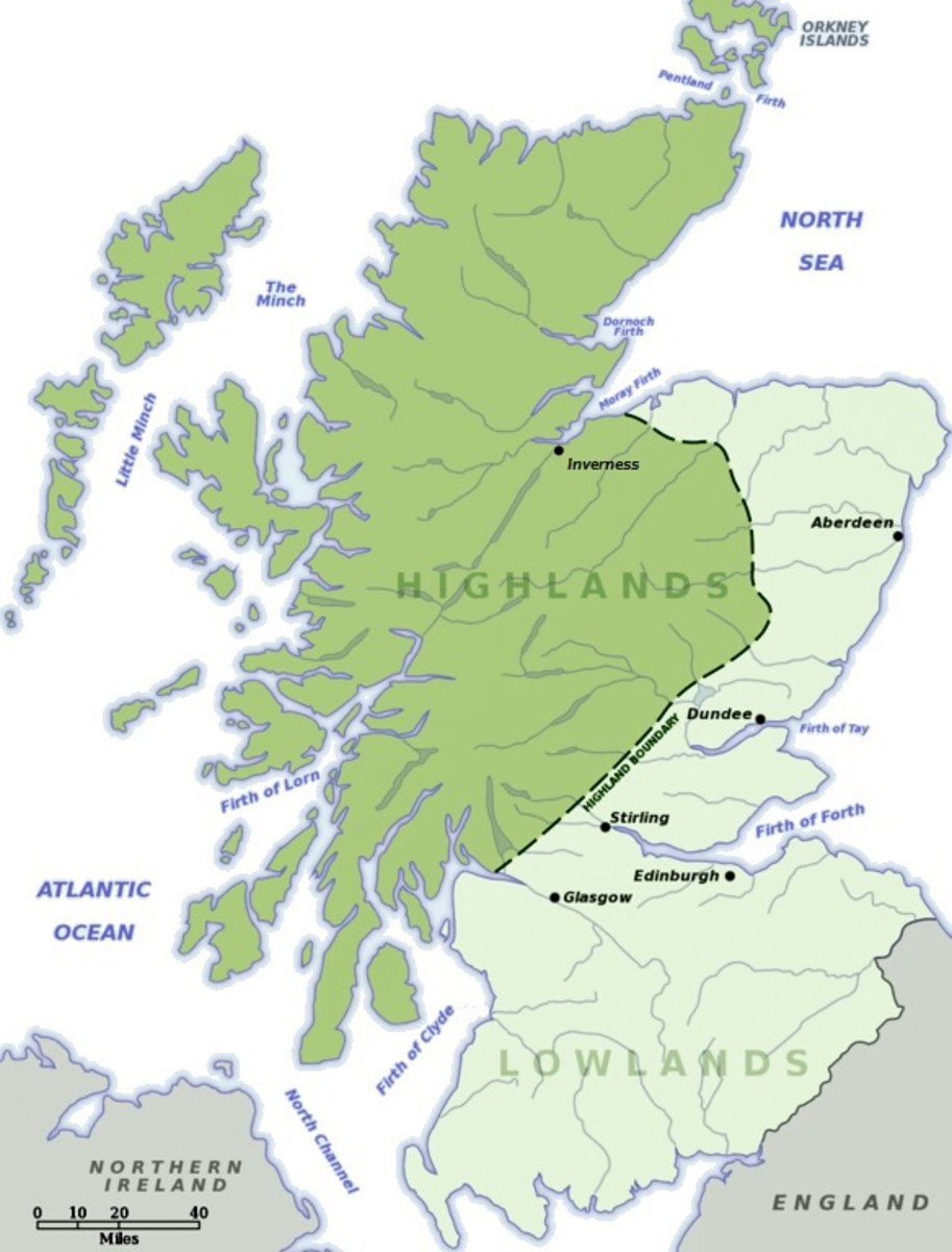 Scottish Highlands and Lowlands