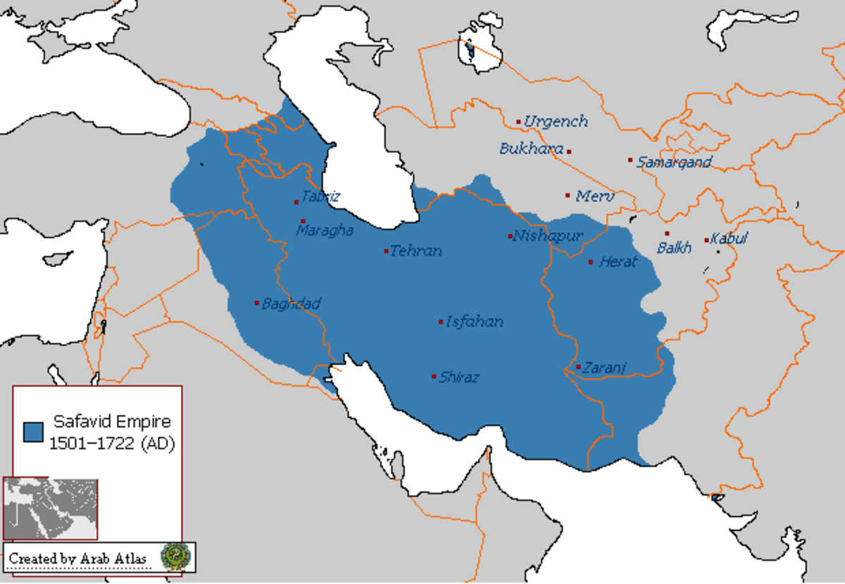 Five Great Islamic Empires