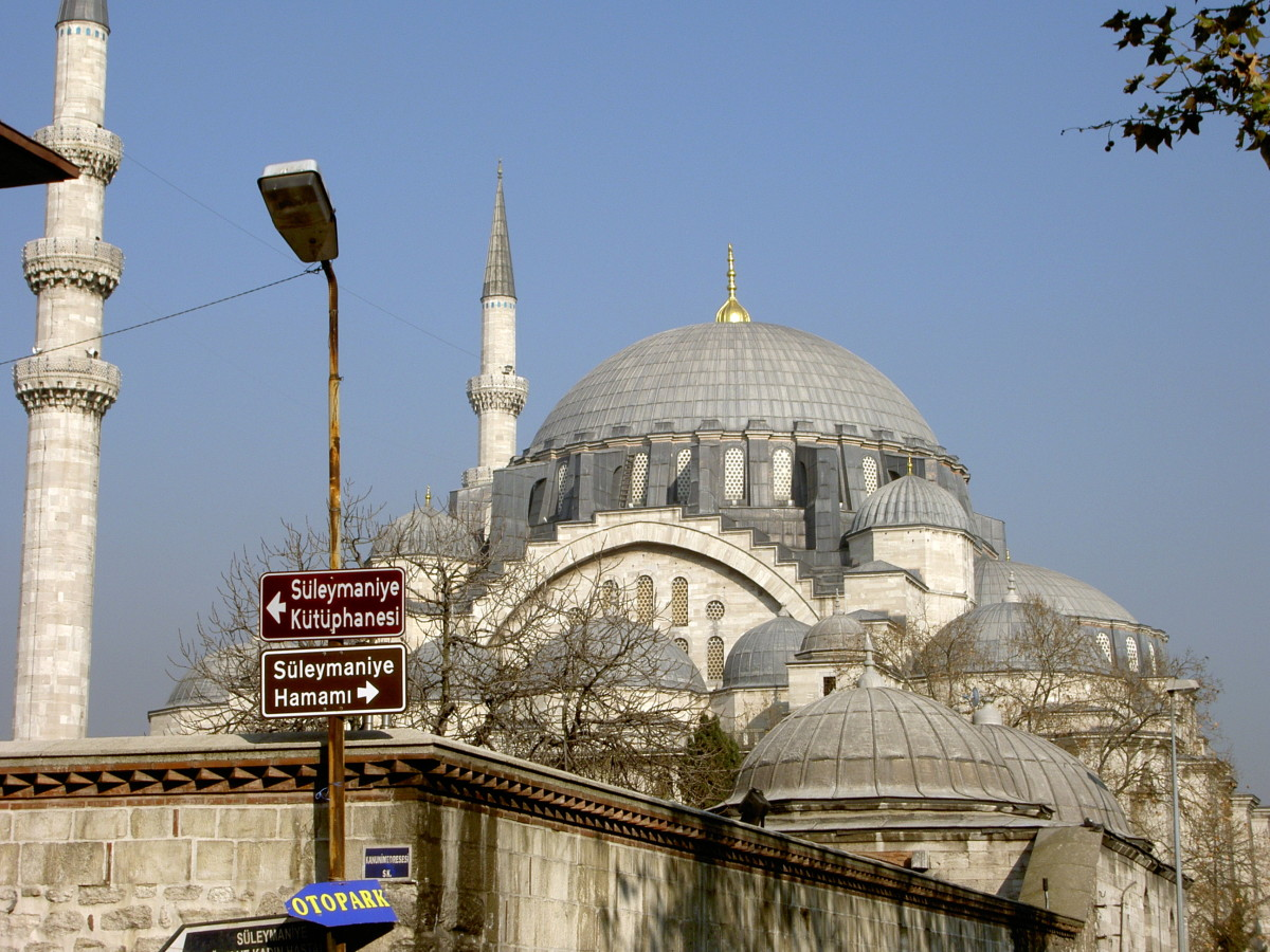 Suleymaniye Mosque, the icon of Ottoman architecture.