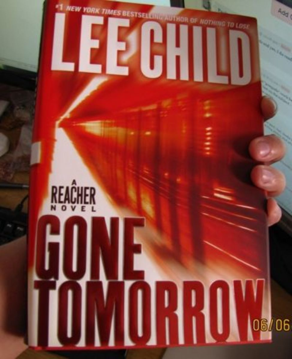 My hardcover copy of Gone Tomorrow, one of my favorite books in the series.
