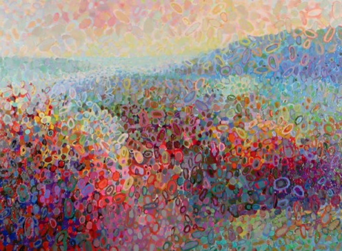 """Hudson Valley Abstract,"" Angelo Franco, 2009"
