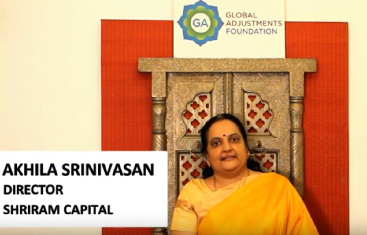 Akhila Srinivasan, Director at Shriram Capital