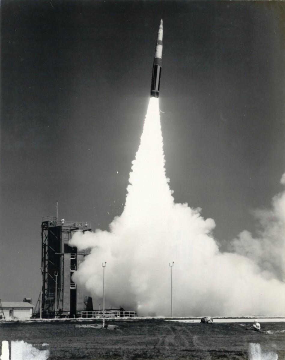 Minuteman II missile launch