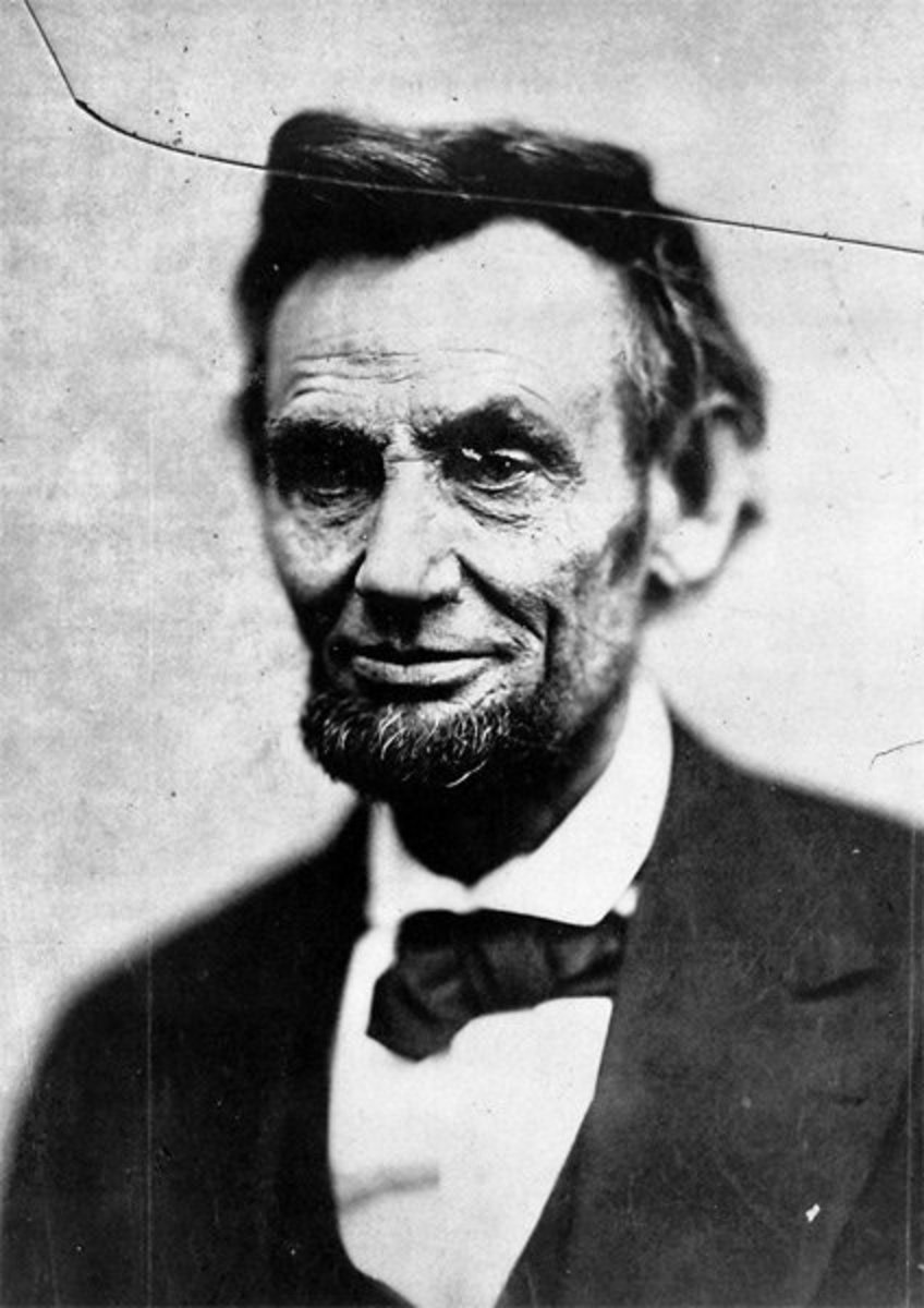 This is the last known picture of Lincoln taken in 1865 before his assassination in April of that year.