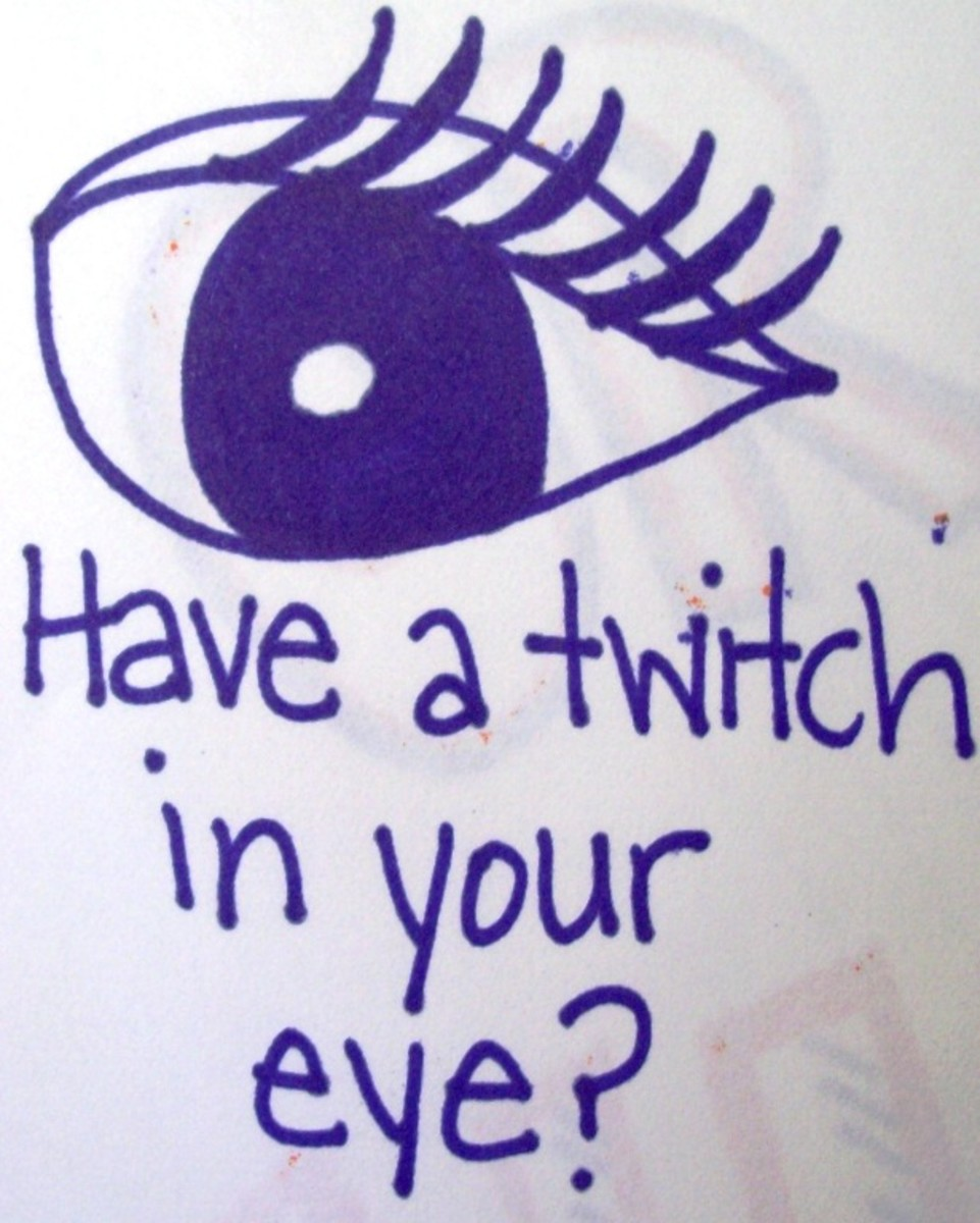My sketch of a glitchy twitch.