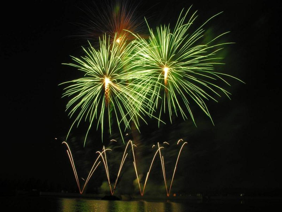 Barium chloride is responsible for the brilliance behind 4th of July displays.