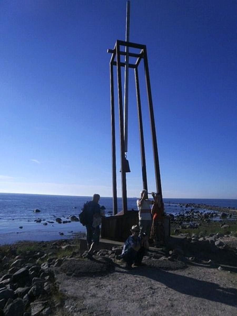 Memorial to the victims of the MS Estonia disaster (Tahkuna, Hiiumaa island, Estonia)