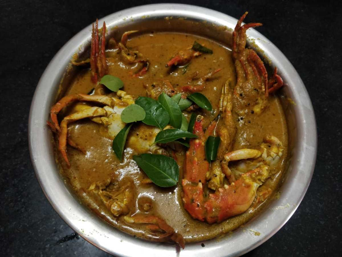Spicy Crab Curry (Tamil Nadu Style)
