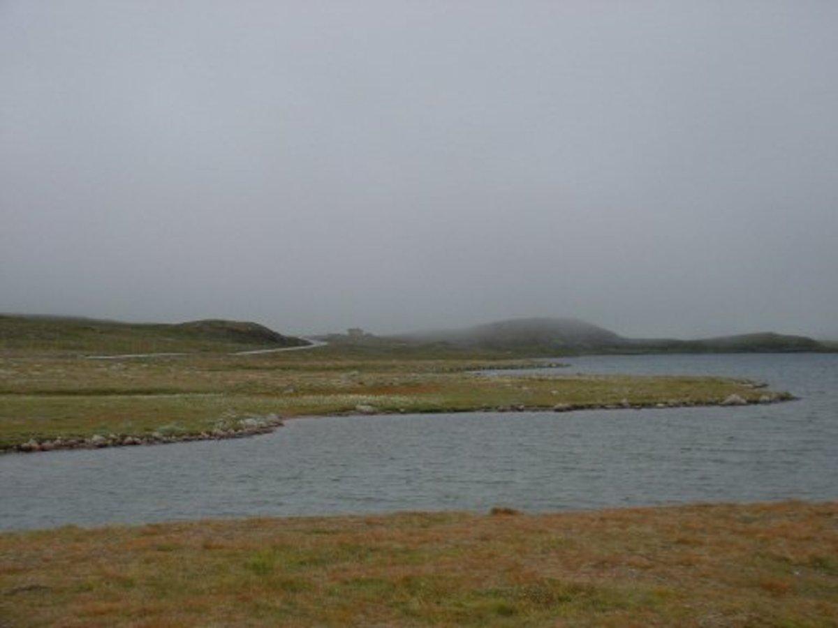 Stratus Clouds over Hardangervidda, Norway