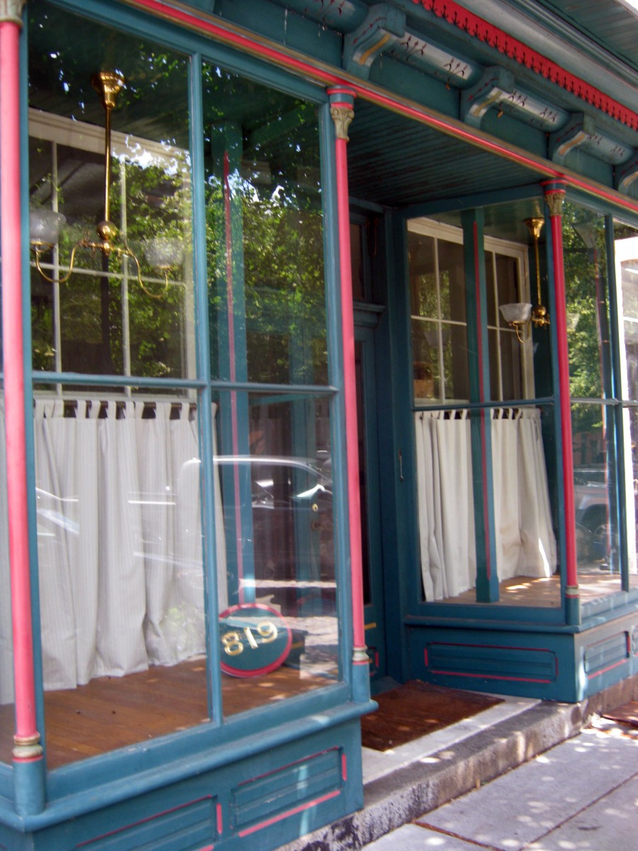 Old Store Front in Fell's Point