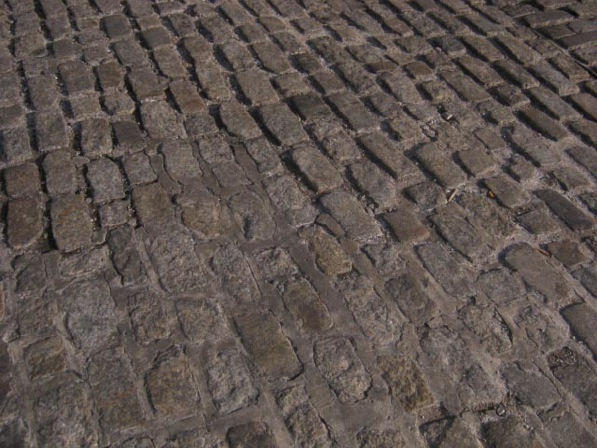 Fells Point - Not cobblestones but Belgian block