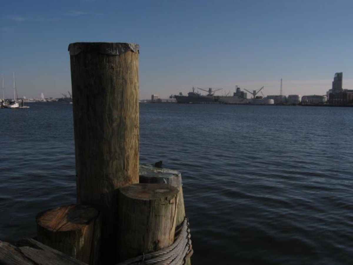 Fell's Point Water View