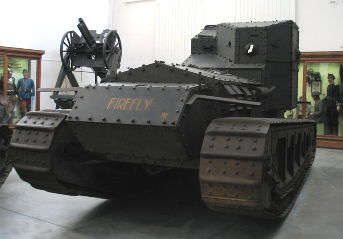 WW1: The Medium Mark A Whippet was a British tank of World War I. Intended to complement the slow Mark V tanks by using its relative mobility and speed in exploiting any break in the enemy lines.