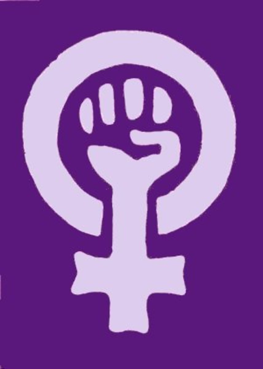 A symbol of the 1970's German Feminist movement and an example of art as propaganda.