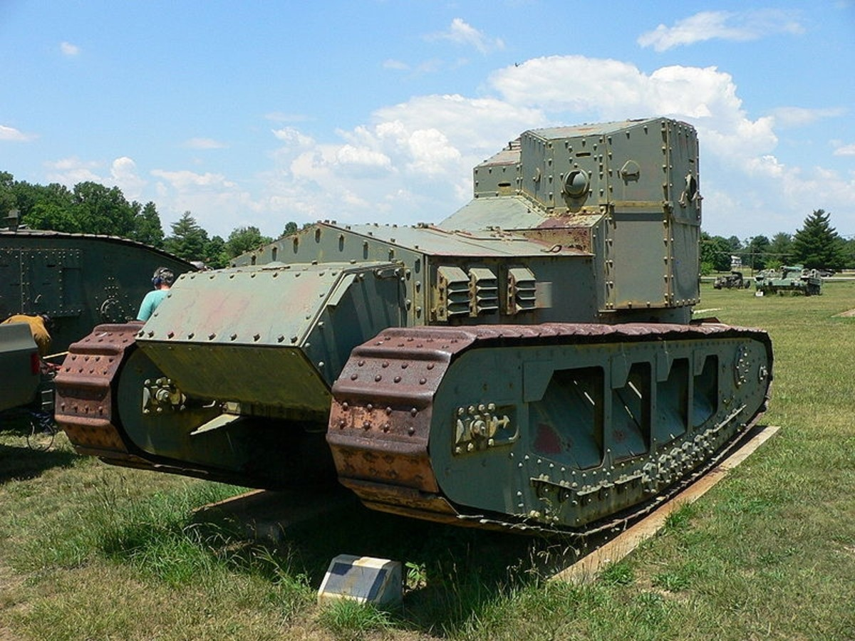 WW1: Medium Mark A Whippet at the US Army Ordnance Museum