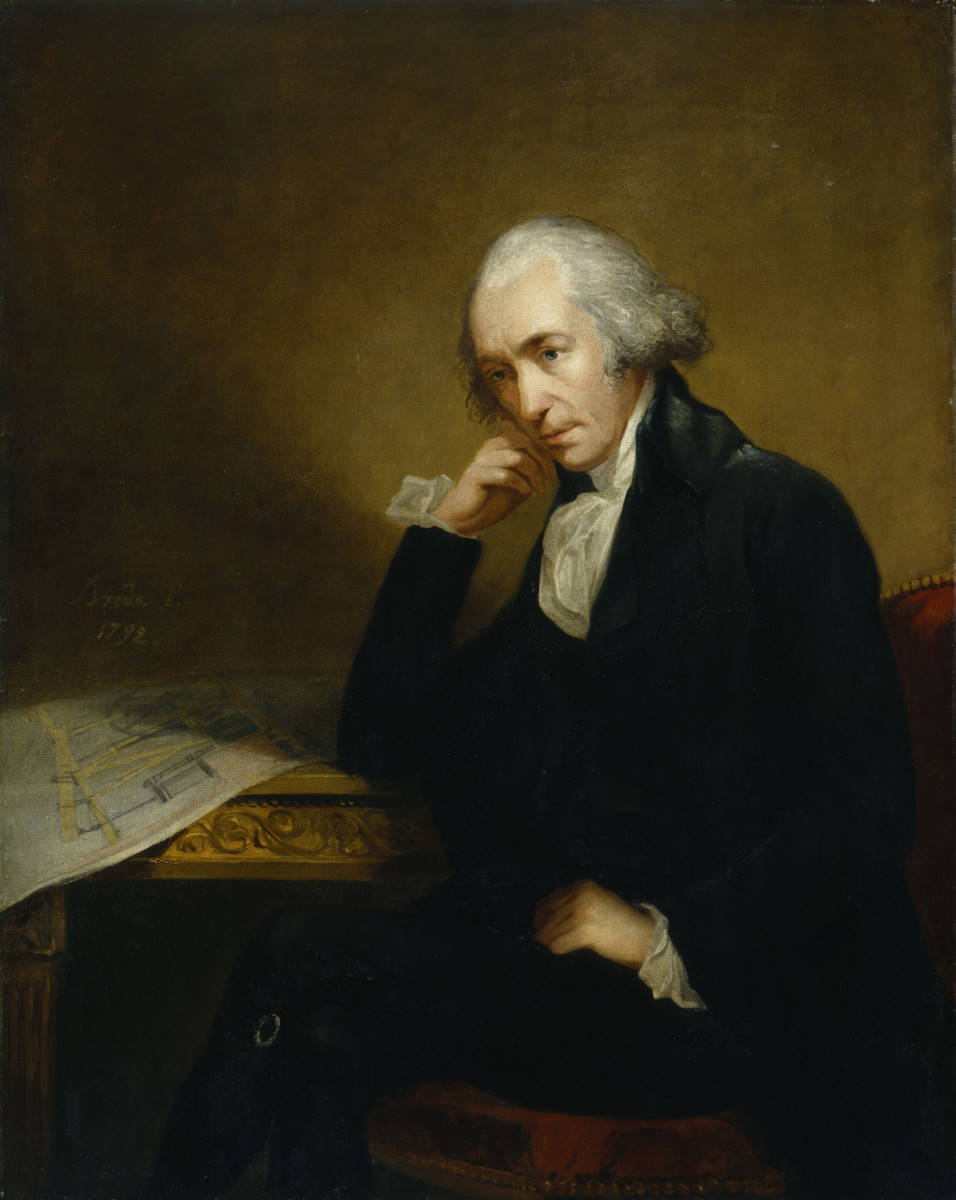 The Scottish inventor, James Watt, who dramatically improved steam powered engines.  Through redesigning the engines of his time, he found that he could avoid much of the energy waste, and greatly improve their power and efficiency.