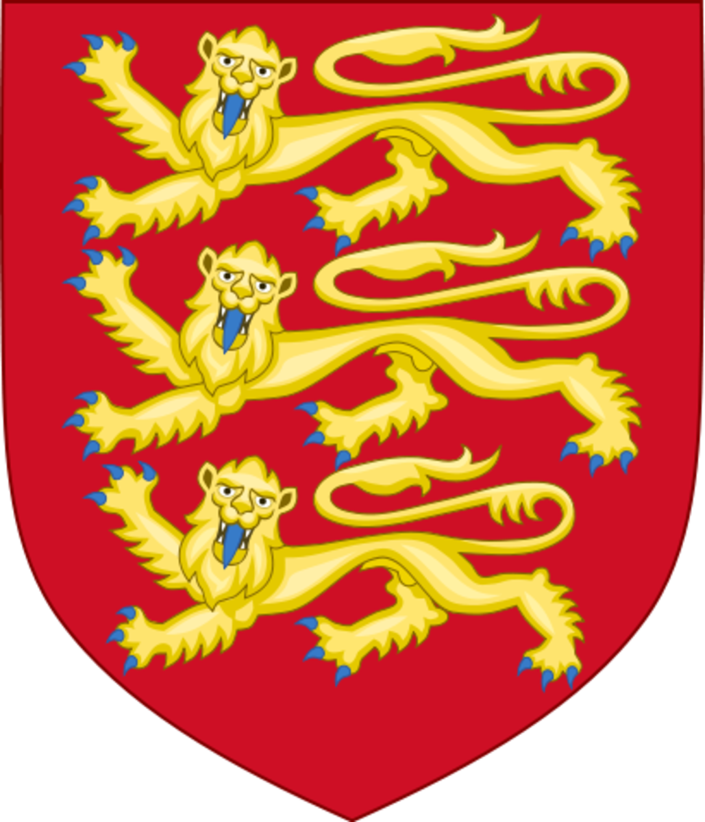 Royal Arms of the House of Plantagenet