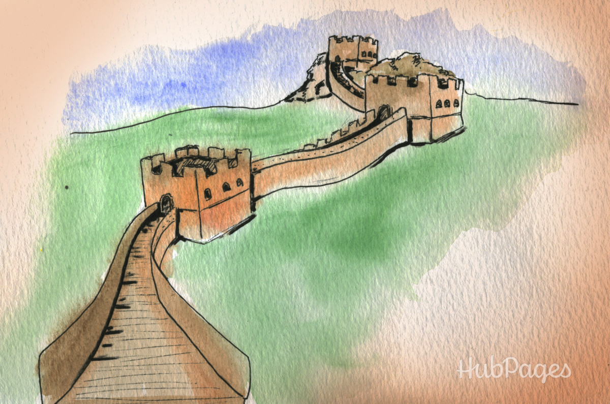 One of Qin Shihuang's achievements was building the Great Wall of China, now considered one of the Seven Wonders of the World.