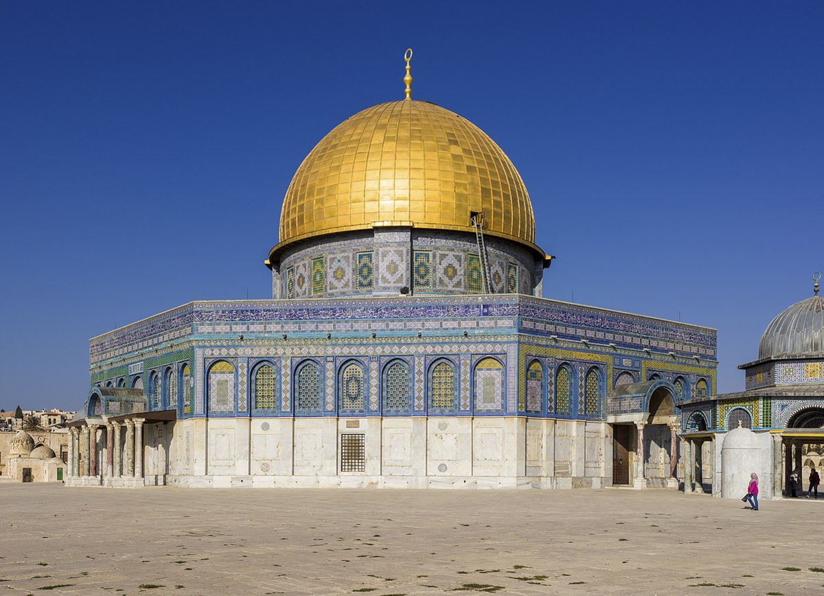 On the Temple Mount of the Old City of Jerusalem