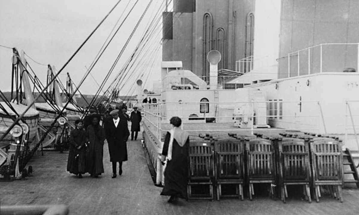 The infamous 'deckchairs on the Titanic'. Perhaps if there had been a few less deckchairs and a few more lifeboats ?