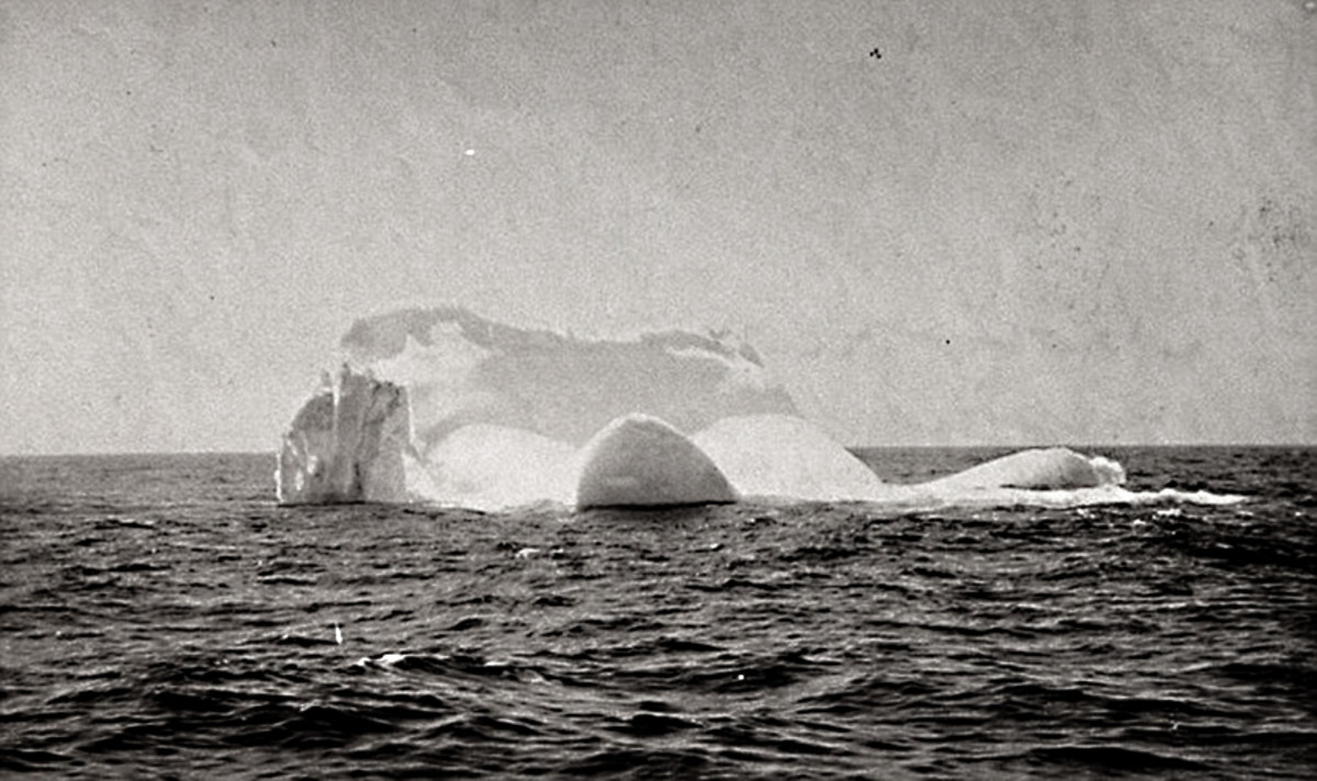 The other player in the disaster. This may well have been the iceberg which sank the Titanic
