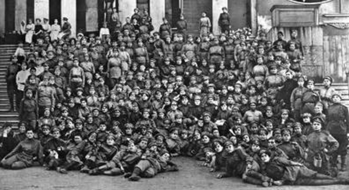 WW1: 1st Russian Women's Battalion of Death