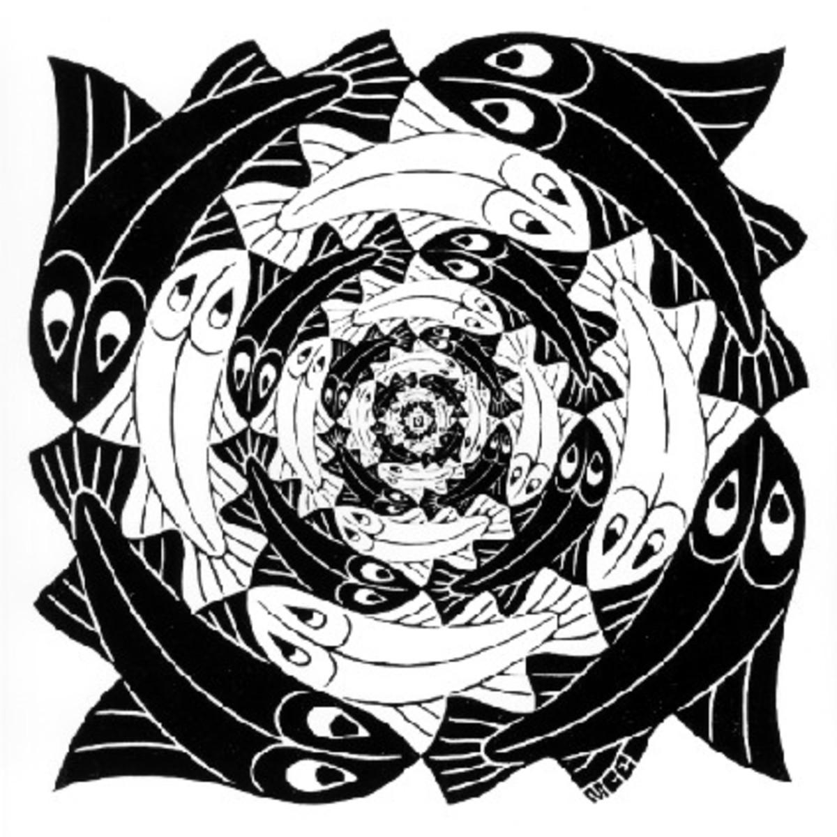 Escher: Fish