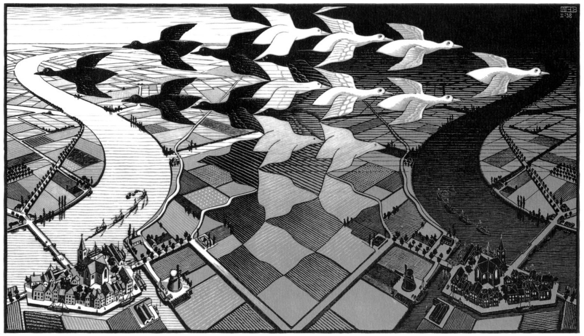 Escher: Bird Perfect