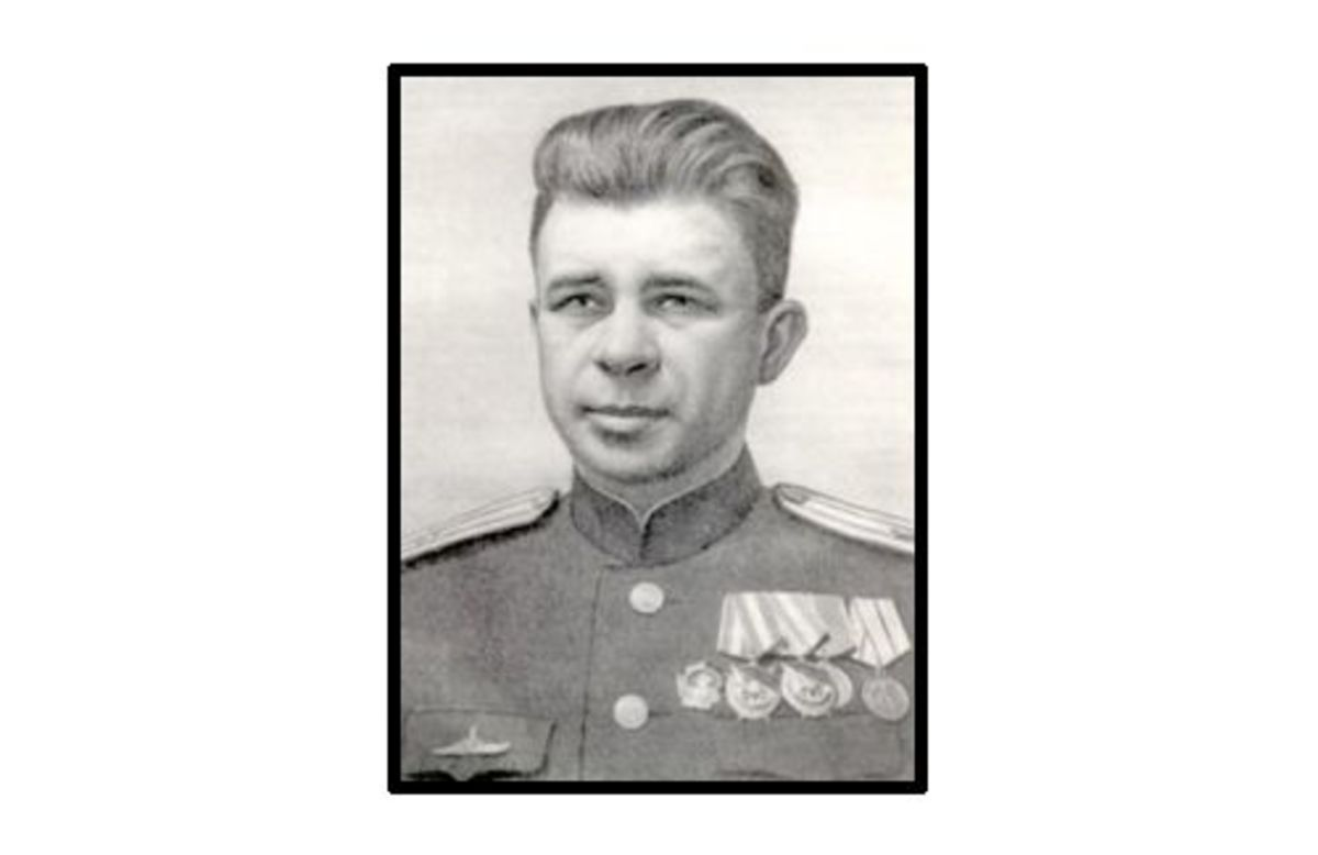 Alexander Marinesko, Soviet WW2 hero, commander of the Soviet submarine S-13.