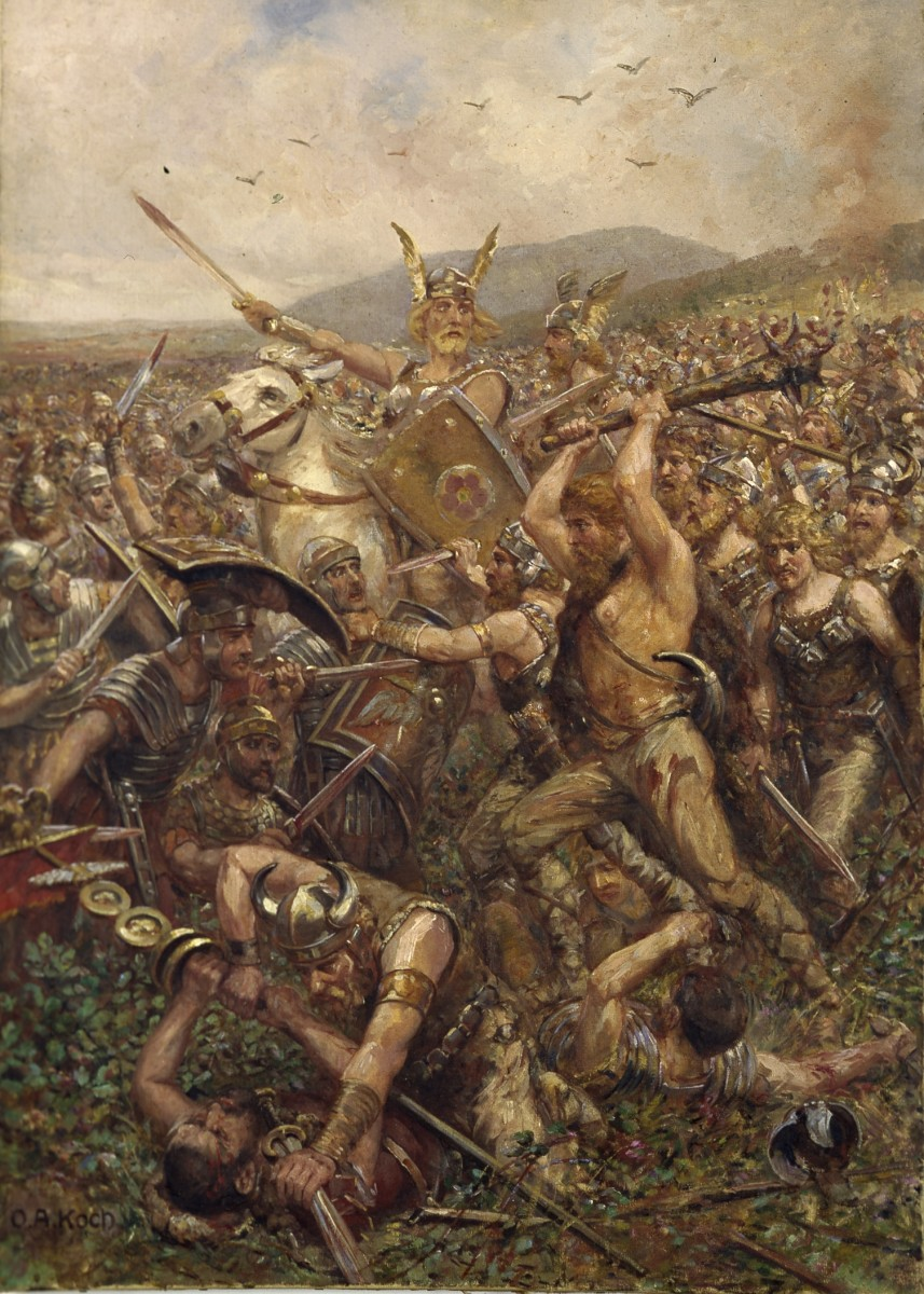 Slaughter in the Teutoburg