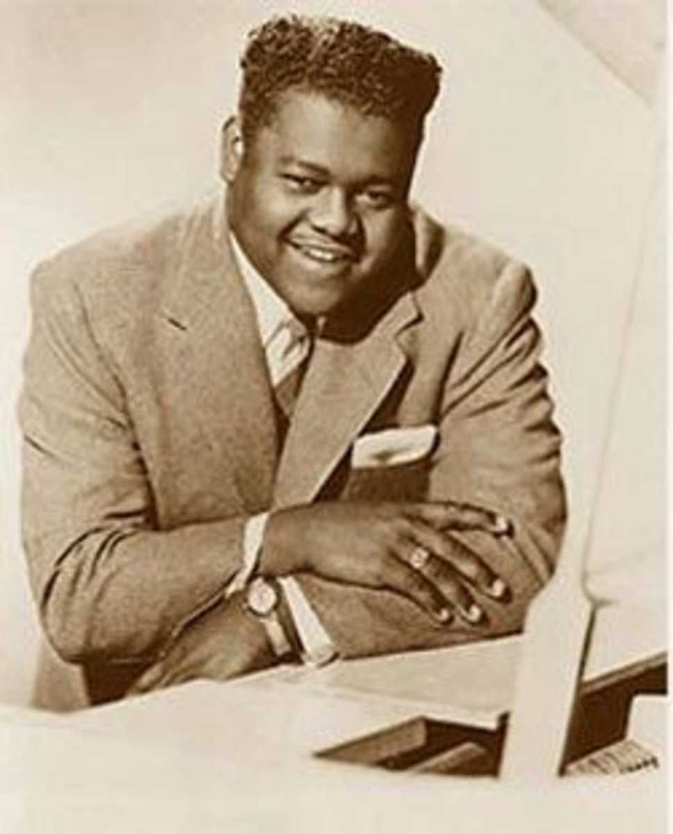 Fats Domino personally autographed a copy of this fan photo for me at a concert in Lubbock, Texas, in 1962. I hope I still have it packed away somewhere.