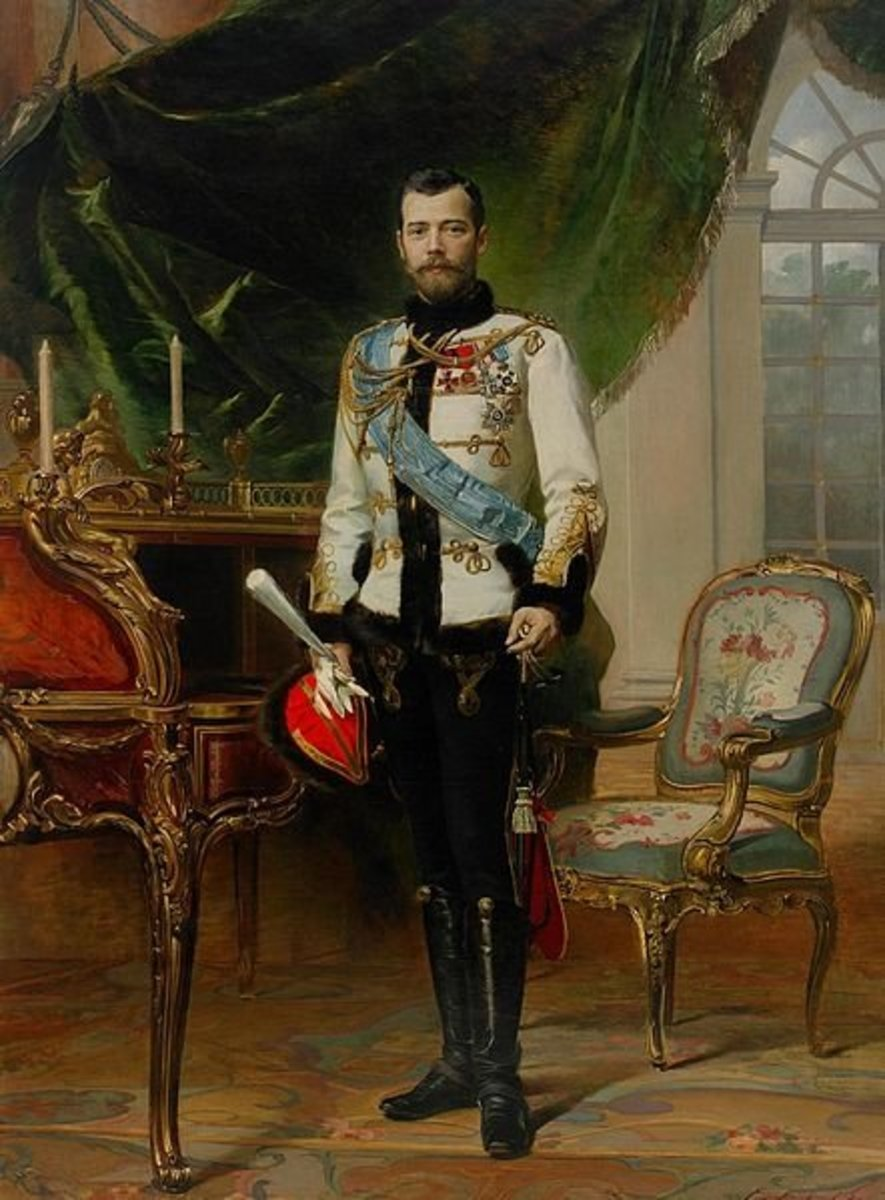 Official portrait of Nikolai II. 1914.