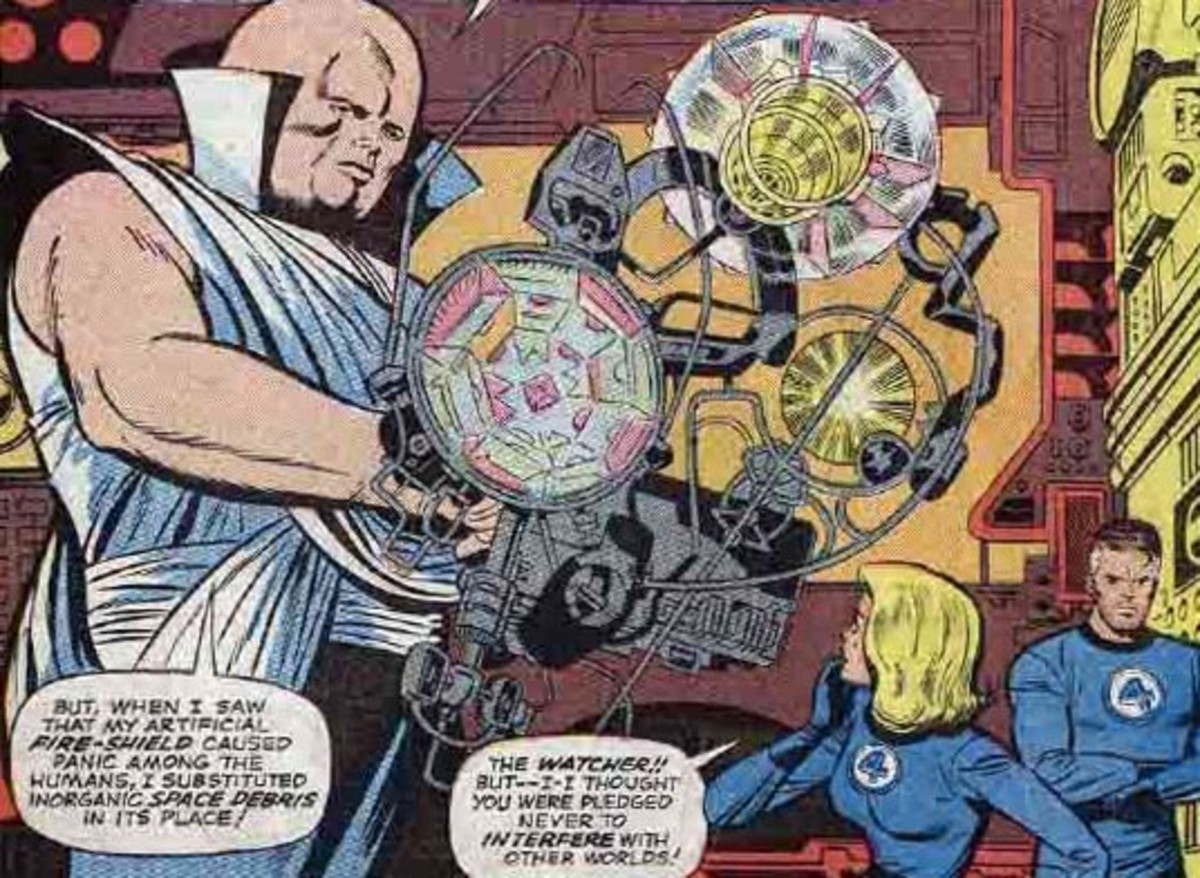 Uatu the Watcher from Marvel Comics