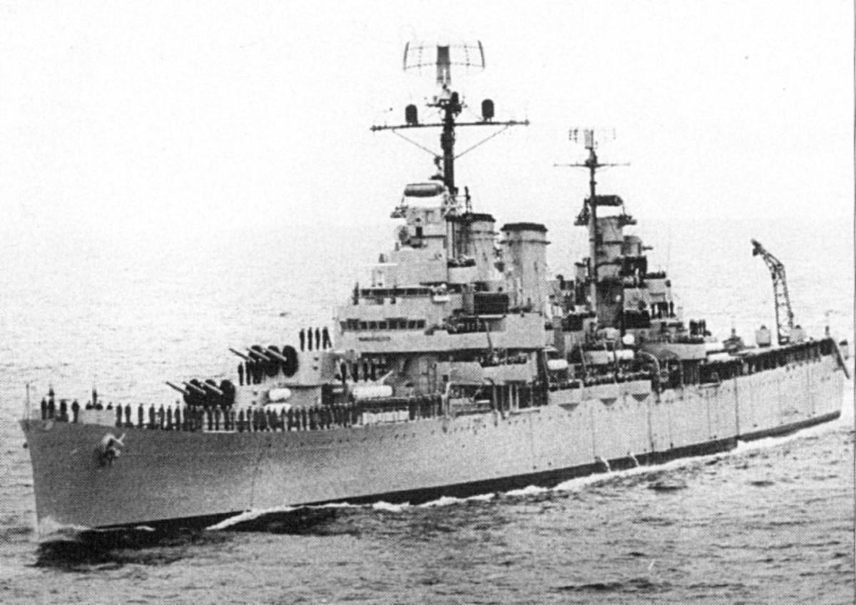ARA General Belgrano underway