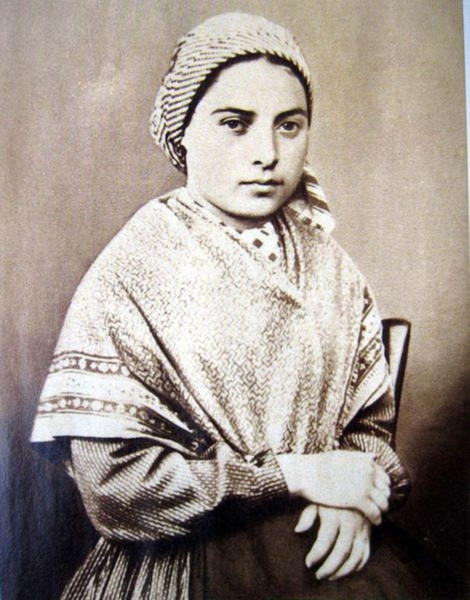 St. Bernadette alive