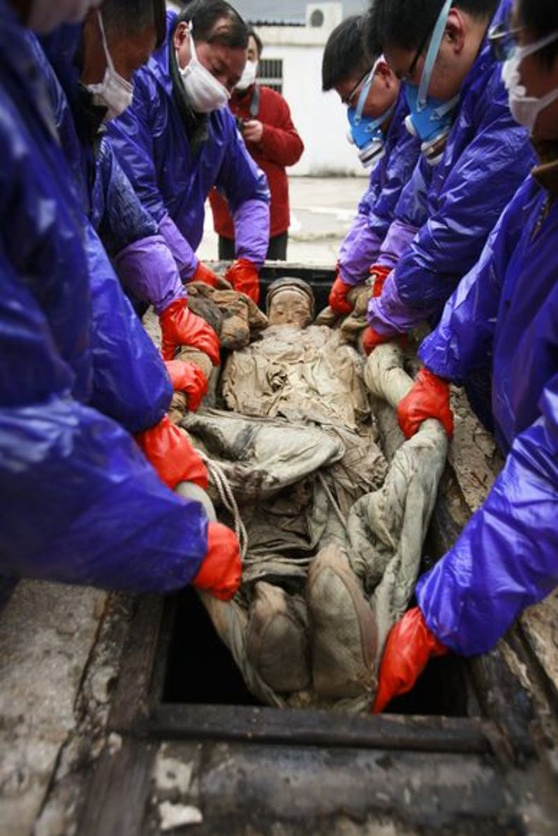 Sometimes the best mummies are discovered by accident.