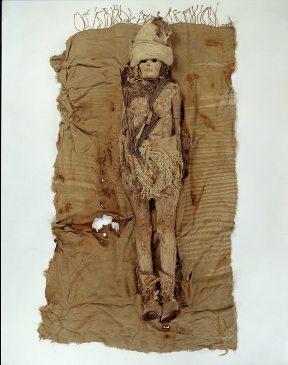 Few mummies are found with everything that was buried with the body. This one offers clues as to her identity.