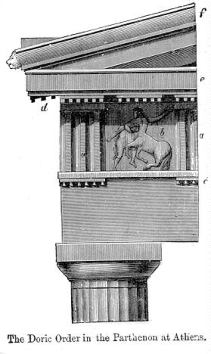 Ancient Greek architectural elements