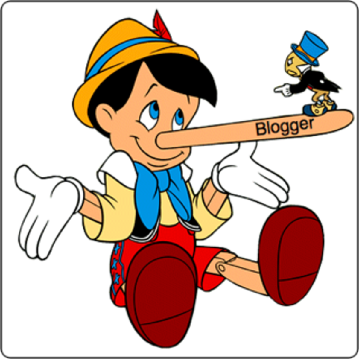 Credibility is important for blogging and general news reporting.