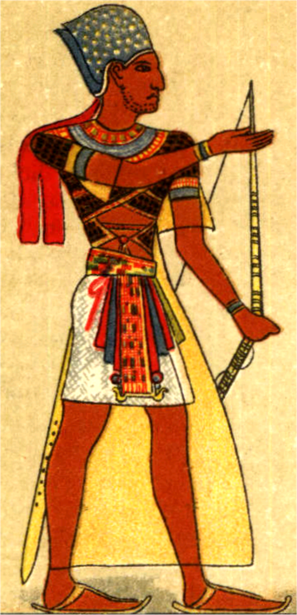 Facts about Clothing Used In Ancient Egypt: Egyptian ...