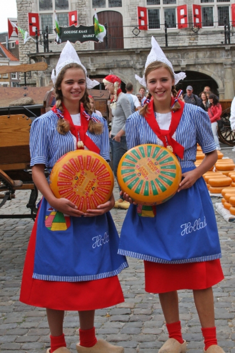 Dutch Cheese girls.