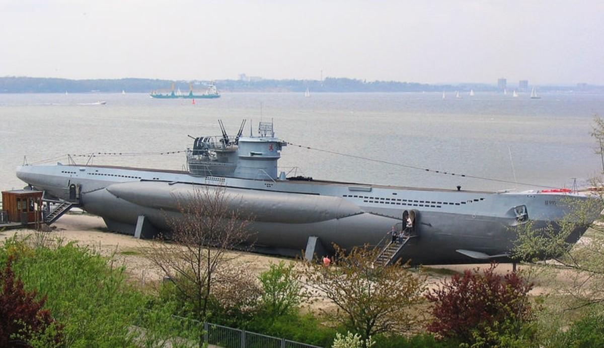 U 995 Type VII, Marine Museum in Laboe near Kiel.
