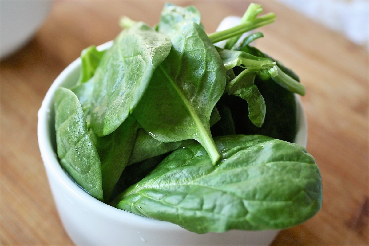 Spinach occupies the second position in the EWG's 2020 Dirty Dozen list.