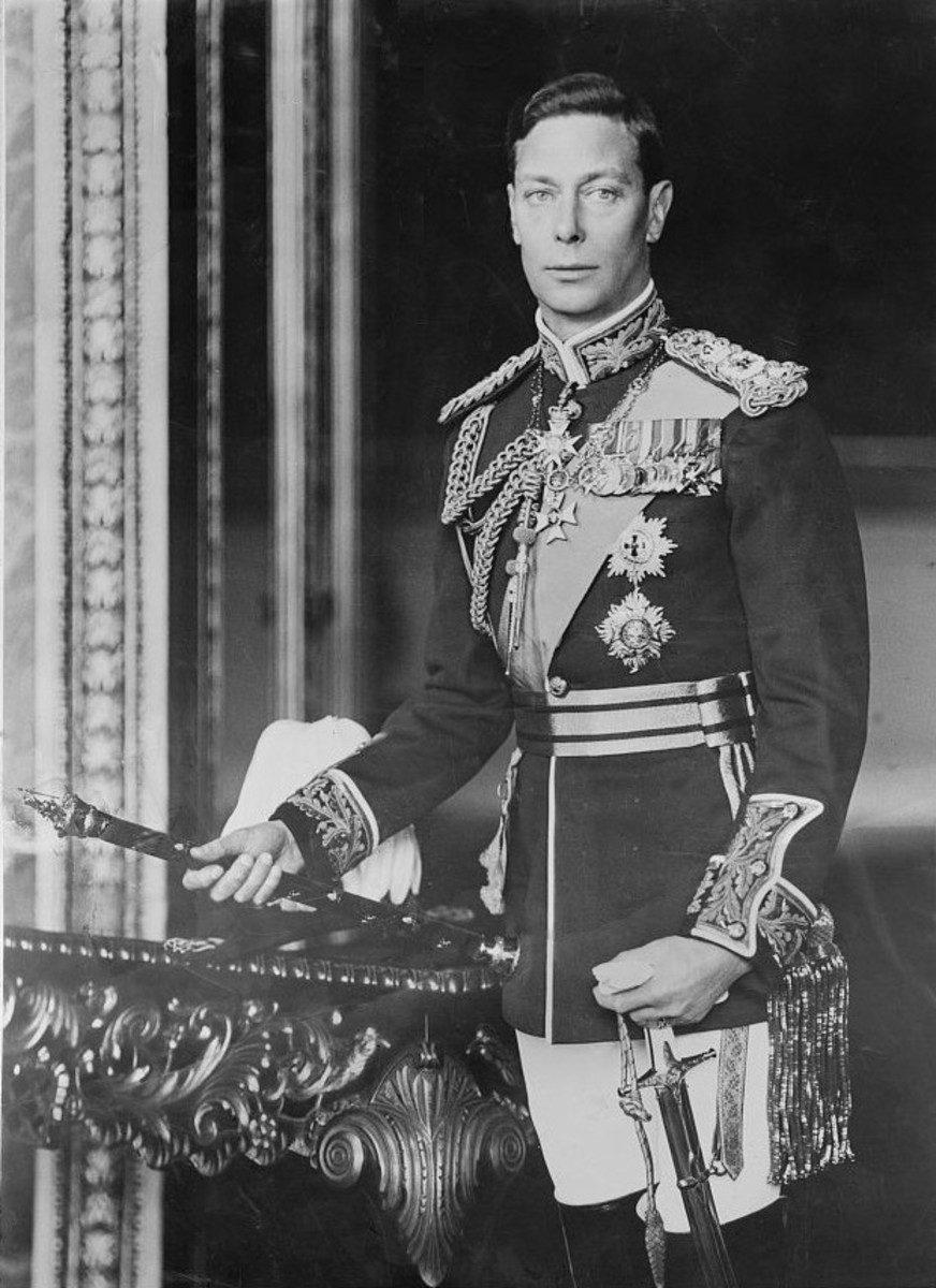 King George VI, last Emperor of India