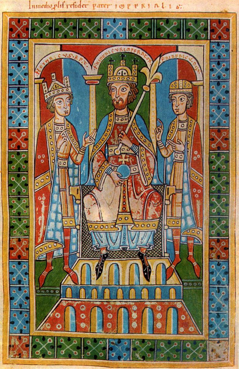 Frederick Barbarossa, Holy Roman Emperor