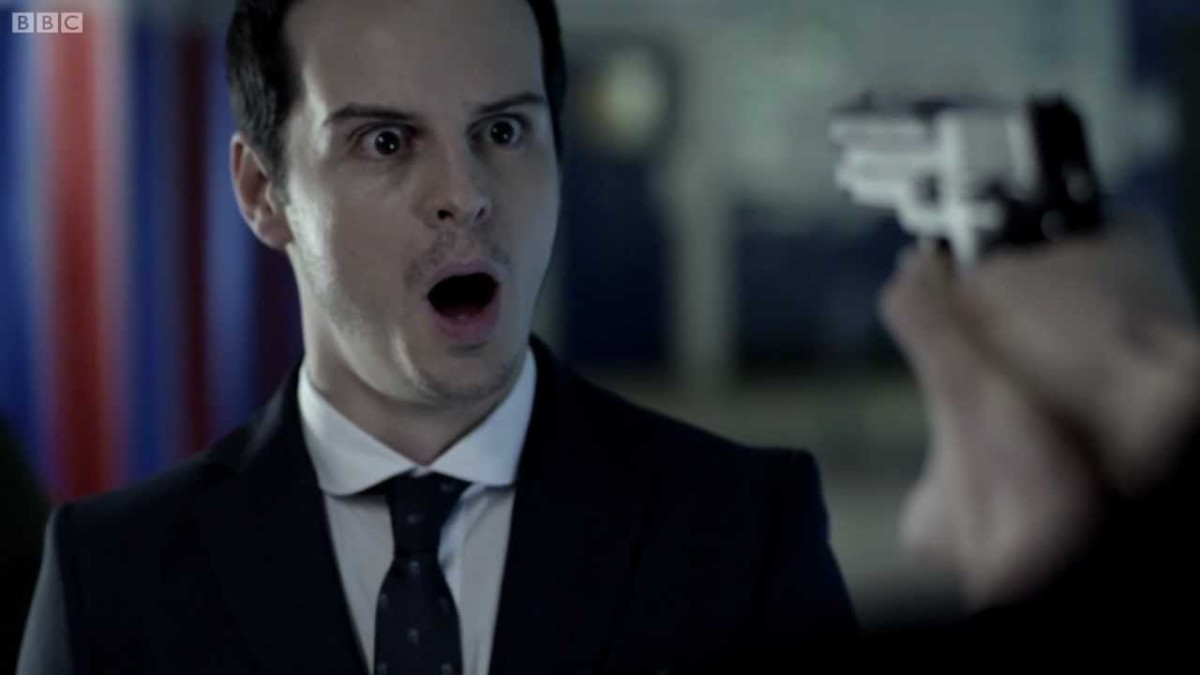 Jimmy Moriarty from Sherlock (Andrew Scott)