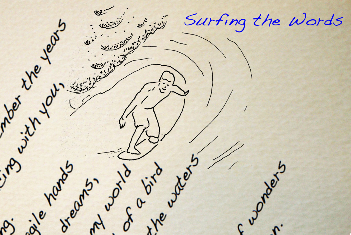 Surfing the words...